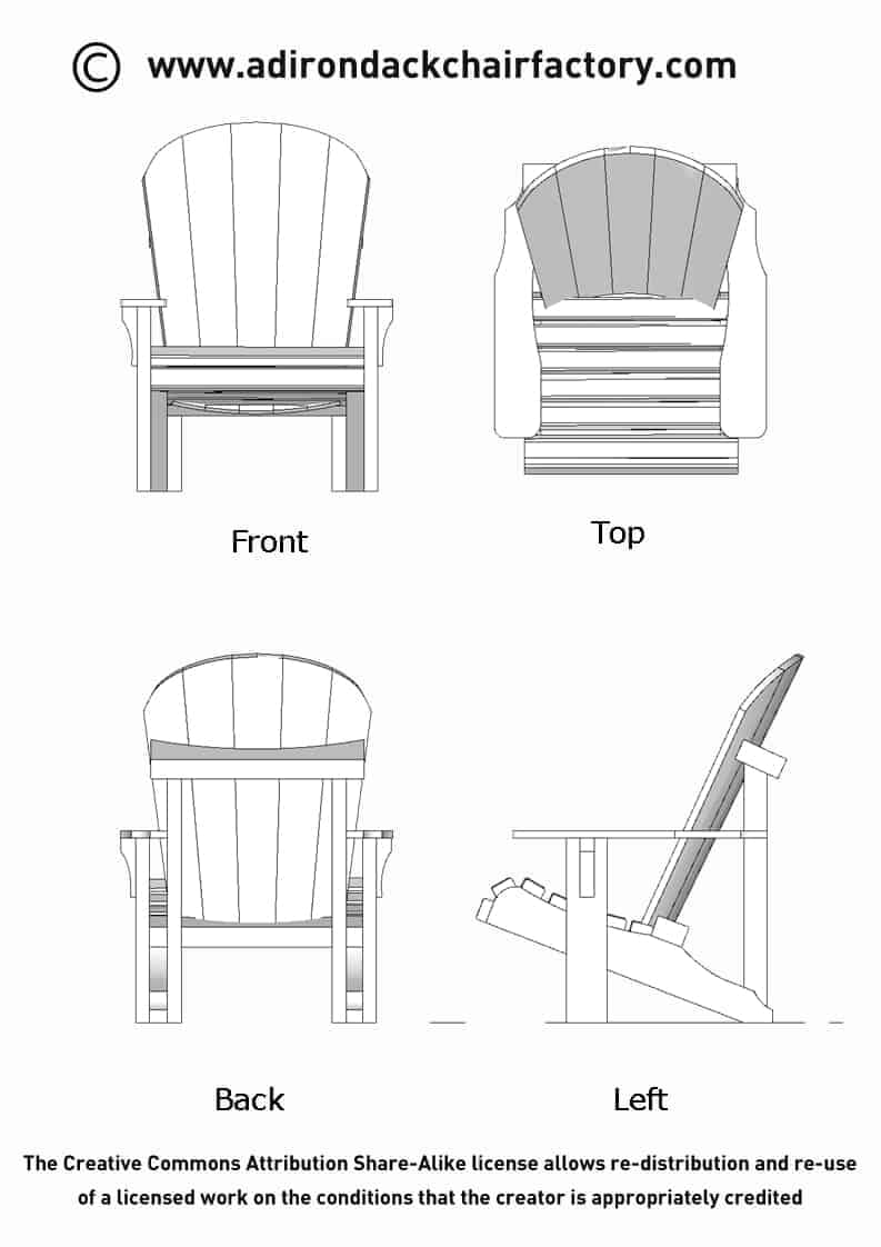 making your own adirondack chairs | 2x4 Adirondack Chair Plans FREE : DIY Guide to Build your ...