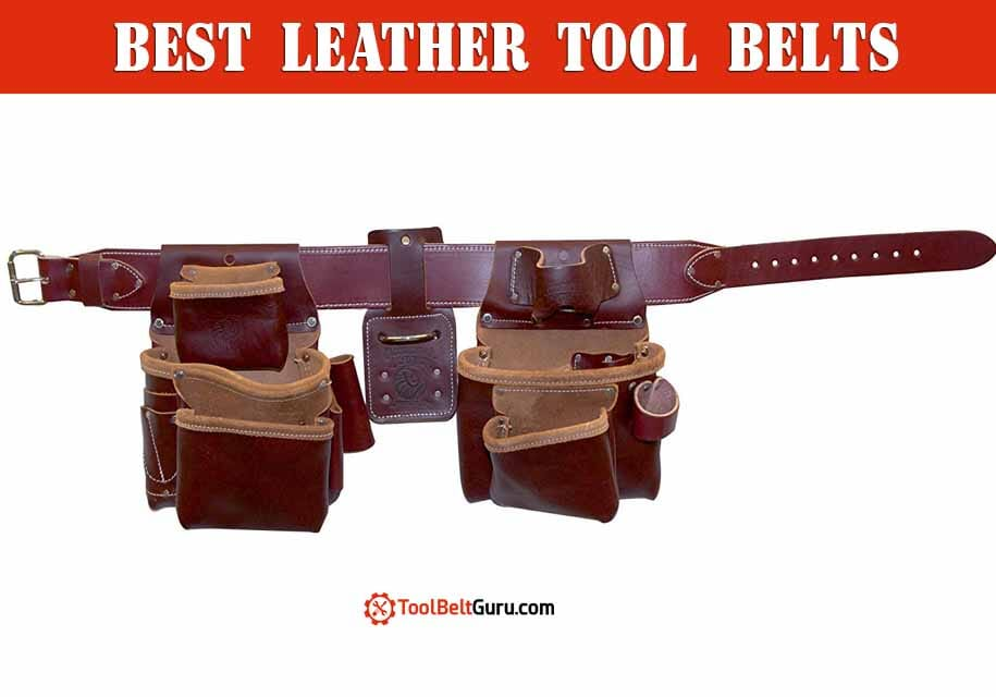 best leather tool belts