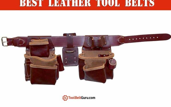 best leather tool belt