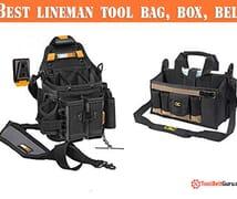 Best lineman tool bag belt box