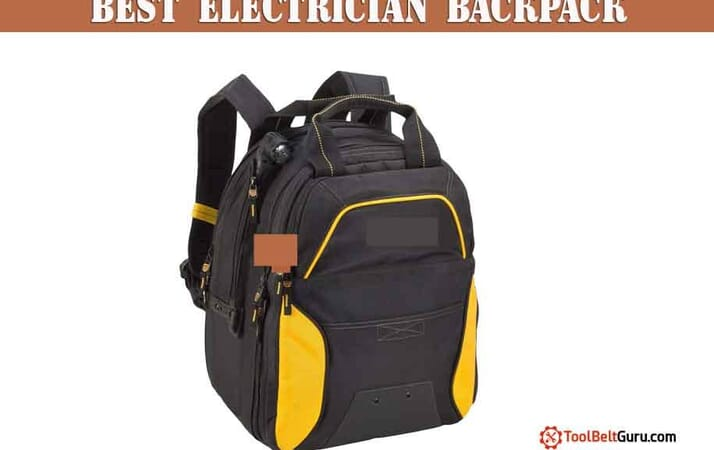 best electrician backpack